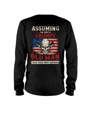 Assuming I'm Just A Grumpy Old Man Long Sleeve Tee thumbnail