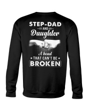 Step-Dad And Daughter A Bond That Can't Be Broken Crewneck Sweatshirt thumbnail