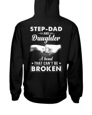 Step-Dad And Daughter A Bond That Can't Be Broken Hooded Sweatshirt thumbnail