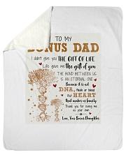 "Bonus Dad - Thank you for loving me as you own Sherpa Fleece Blanket - 50"" x 60"" thumbnail"