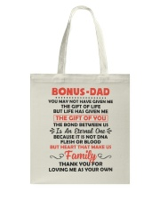Bonus Dad Tote Bag thumbnail