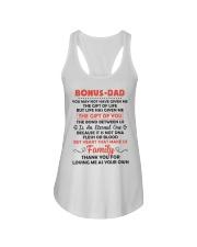 Bonus Dad Ladies Flowy Tank thumbnail