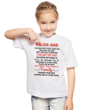 Bonus Dad Youth T-Shirt lifestyle-youth-tshirt-front-2