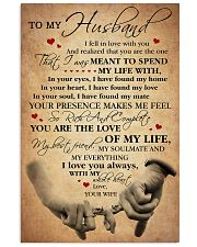 To my Husband - I Love You always 11x17 Poster front