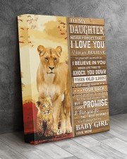 Lion- Never Forget That I Love You Mom-To-Daughter 11x14 Gallery Wrapped Canvas Prints aos-canvas-pgw-11x14-lifestyle-front-08