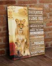 Lion- Never Forget That I Love You Mom-To-Daughter 11x14 Gallery Wrapped Canvas Prints aos-canvas-pgw-11x14-lifestyle-front-09