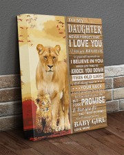Lion- Never Forget That I Love You Mom-To-Daughter 11x14 Gallery Wrapped Canvas Prints aos-canvas-pgw-11x14-lifestyle-front-10