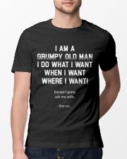 I am a grumpy old man  Classic T-Shirt lifestyle-mens-crewneck-front-13