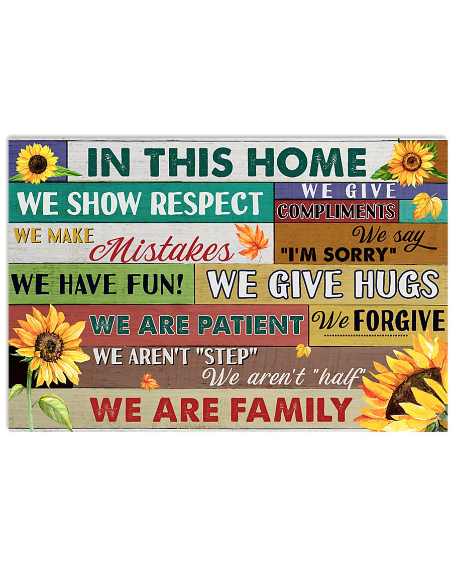 We Are Family 17x11 Poster
