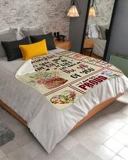 """My Dear Step Daughter Sherpa Fleece Blanket - 50"""" x 60"""" aos-sherpa-fleece-blanket-lifestyle-front-02"""