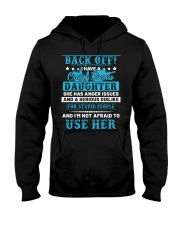Back Off I Have A Crazy Bonus Daughter Hooded Sweatshirt thumbnail
