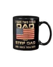 Two Titles Dad And Stepdad And I Rock Them Both Mug thumbnail
