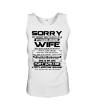 My Heart Only Beats For Wife Was Born In March Unisex Tank thumbnail