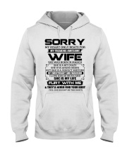 My Heart Only Beats For Wife Was Born In March Hooded Sweatshirt thumbnail