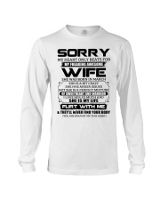 My Heart Only Beats For Wife Was Born In March Long Sleeve Tee thumbnail