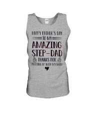 Happy Fathers Day To Amazing StepDad Unisex Tank thumbnail