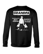 Granddaughter's best friend- Grandson best partner Crewneck Sweatshirt thumbnail