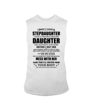 I Have A Freaking Awesome Daughter She's Stubborn Sleeveless Tee thumbnail