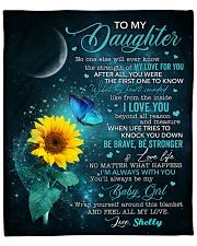 """Personalized - No One Else Will Ever To Daughter Fleece Blanket - 50"""" x 60"""" front"""