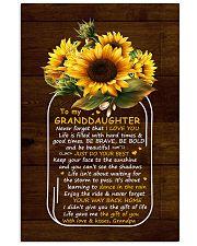 Never 4get That I Love U Grandpa To Granddaughter 11x17 Poster thumbnail