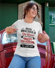 Never Underestimate An Old Woman Ladies T-Shirt apparel-ladies-t-shirt-lifestyle-01