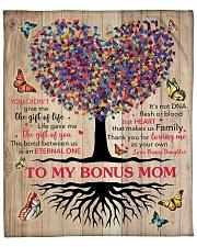 "U Did Not Give Me The Gift Of Life To Bonus Mom Fleece Blanket - 50"" x 60"" front"