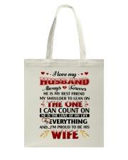 I Love My Husband Tote Bag thumbnail