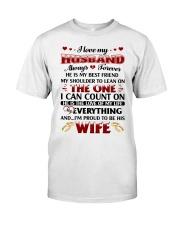 I Love My Husband Classic T-Shirt thumbnail