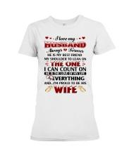 I Love My Husband Premium Fit Ladies Tee thumbnail