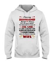 I Love My Husband Hooded Sweatshirt thumbnail