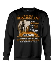 To My Dear Son-In-Law From Mother-in-law Crewneck Sweatshirt thumbnail