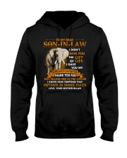 To My Dear Son-In-Law From Mother-in-law Hooded Sweatshirt tile
