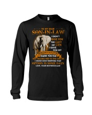 To My Dear Son-In-Law From Mother-in-law Long Sleeve Tee tile