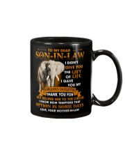 To My Dear Son-In-Law From Mother-in-law Mug thumbnail