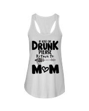 If Lost Or Drunk Please Retur'n To Mom Ladies Flowy Tank thumbnail