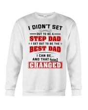 I Set Out To Be The Best Dad Crewneck Sweatshirt thumbnail