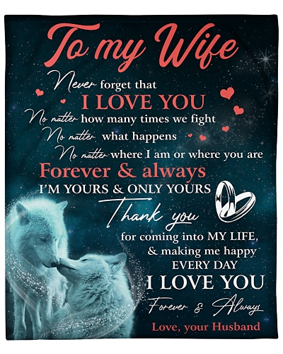 To My Wife Thanks For Coming Into My Life