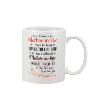 Thanks for being my Mother-in-law go find you Mug front