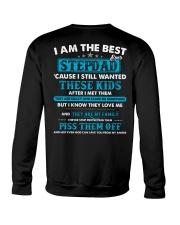 I Am The Best Stepdad Crewneck Sweatshirt thumbnail