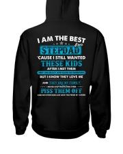 I Am The Best Stepdad Hooded Sweatshirt thumbnail