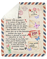 """Inside This Blanket Is A Piece Mom To Son Sherpa Fleece Blanket - 50"""" x 60"""" thumbnail"""