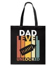 Dad Lever Unlocked Tote Bag thumbnail