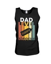 Dad Lever Unlocked Unisex Tank thumbnail