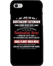 Jeg Er En Bortskjemt Ektemann men Ikke Din Phone Case thumbnail