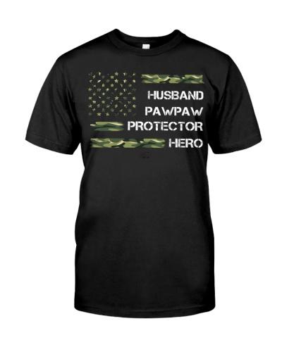 Husband Pawpaw Protector Hero