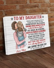 When Life's Troubles Try Scare You Mom To Daughter 24x16 Gallery Wrapped Canvas Prints aos-canvas-pgw-24x16-lifestyle-front-03