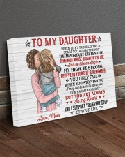 When Life's Troubles Try Scare You Mom To Daughter 24x16 Gallery Wrapped Canvas Prints aos-canvas-pgw-24x16-lifestyle-front-04