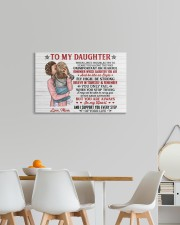 When Life's Troubles Try Scare You Mom To Daughter 24x16 Gallery Wrapped Canvas Prints aos-canvas-pgw-24x16-lifestyle-front-20