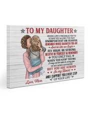 When Life's Troubles Try Scare You Mom To Daughter Gallery Wrapped Canvas Prints tile