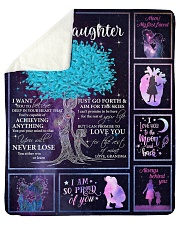 I Can Promise To Love U Tree GM To GD Sherpa Fleece Blanket tile